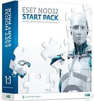 ESET NOD32 START PACK  База 1ПК/1год (BOX)