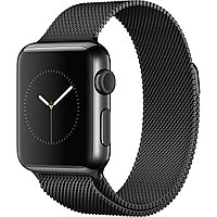 Apple Watch 42mm Black Milanese Loop Series-2