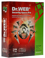 Антивирус Dr. Web Security Space на 1 год 2 ПК (BOX)