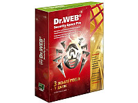 Антивирус Dr.Web Security Space Pro Gold на 3 года 1 ПК (BOX)