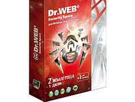 Антивирус Dr.Web Security Space Pro SILVER на 2 года 1 ПК (BOX)
