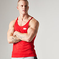 Myprotein men,s Longline Stringer Vest,Red(L,XL)