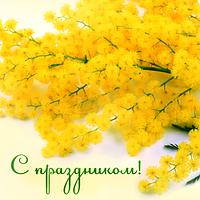 """Дорогие, милые женщины! Коллектив компании """" ИНВОЛЬТ"""" сердечно поздравляет Вас с самым красивым и светлым весенним праздником - днем 8 Марта!"""