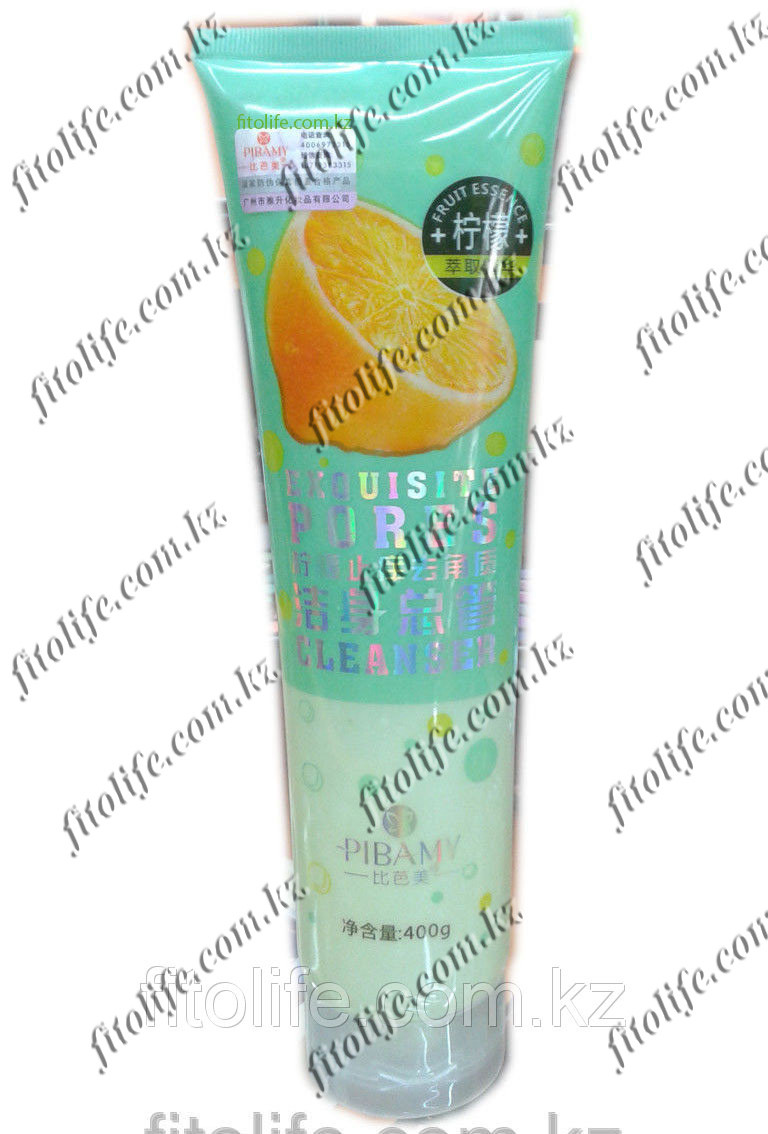 Пилинг для тела Pibamy, лимон 400г
