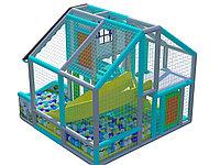 Детский игровой лабиринт Звёздный домик ( 2500х1900х2200 мм)