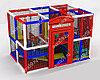 Детский игровой лабиринт Британия (3000х2000х2700 мм)