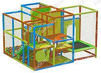 Детский игровой лабиринт Прекрасный домик (3300х3700х2500 мм)