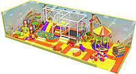 Детский игровой лабиринт Малиновый апельсин (4900х2000х2400 мм), фото 1
