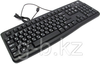 LOGITECH Corded  Keyboard K120 - EER - Russian layout - BLACK