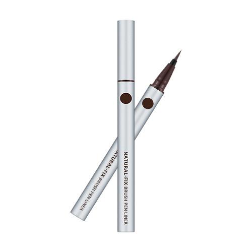 Подводка-кисть для глаз MISSHA Natural Fix Brush Pen Liner (Brown)