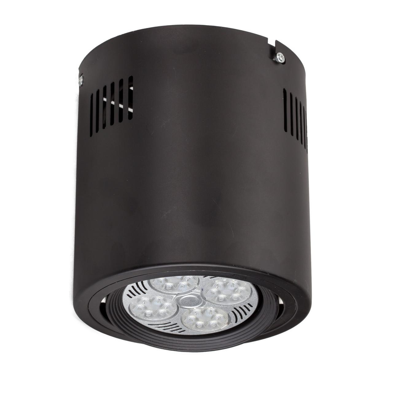 Накладной светодиодный светильник LD-35W LED PAR30 E27(в комплекте), потолочный цилиндр