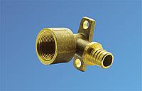 Угольник для PE-RT комб. с крепл. ВР 16-1/2 (2,2)
