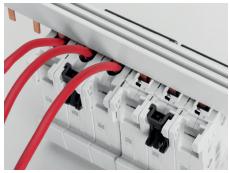 Монтаж автоматических выключателей ABB