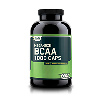 Аминокислоты BCAA 1000 - 400 капсул (Optimum Nutrition)