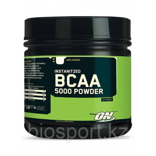 Аминокислоты BCAA Powder 5000 - 400  грамм (Optimum Nutrition)