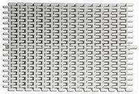 Решетка переливная гибкая высота 24 мм, ширина 195 мм