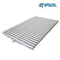 Решетка переливная высота 20 мм, ширина 245 мм (Kripsol)