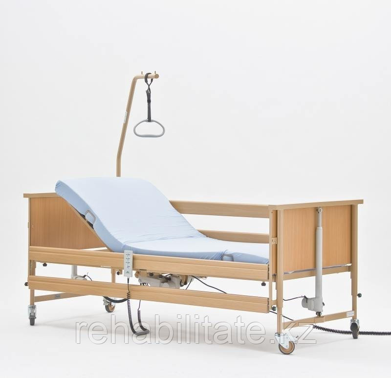 Кровать с регулировкой высоты, ламели деревянные (Германия) Arminia Economic II