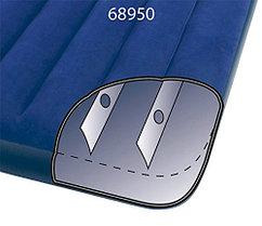 Надувной матрас Intex 68950 Синий (Габариты: 191 х 76 х 22 см), фото 2