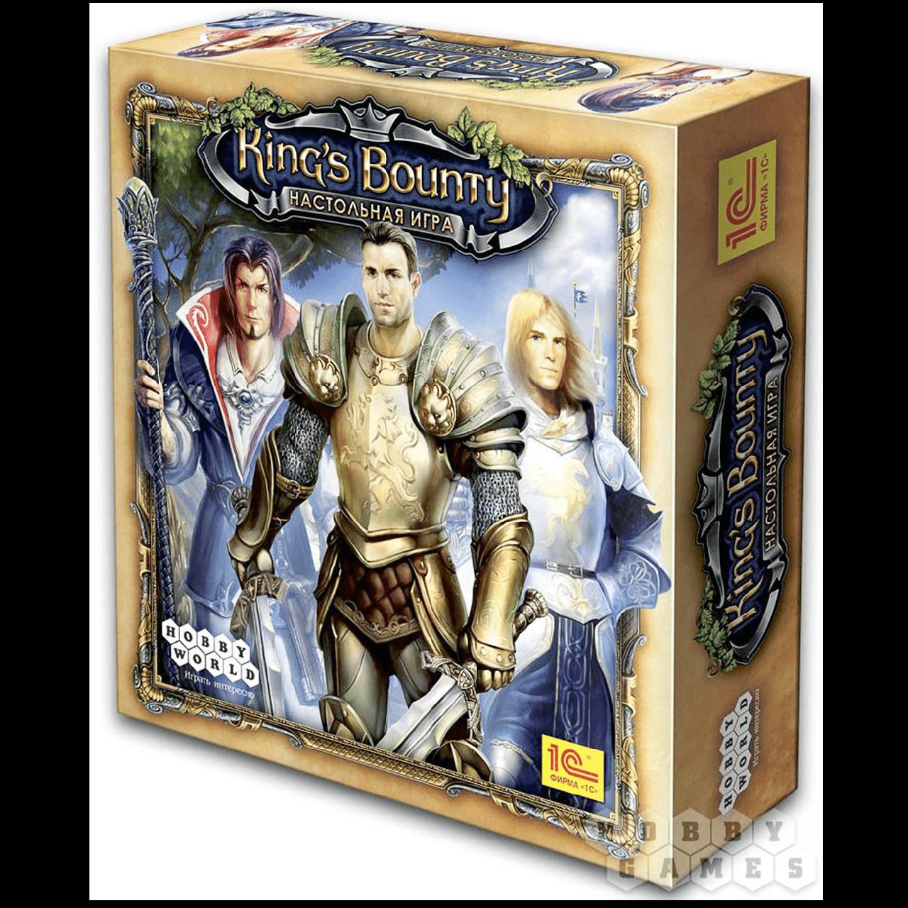 Настольная игра: Кингс Баунти (King's Bounty) (2-е рус. изд), арт