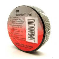 Temflex 1300 E 19ммX9.15M, Чёрная, фото 1