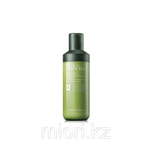Увлажняющий лосьон Tonymoly The Chok Chok Green Tea Watery Lotion,160мл
