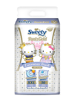 Трусики Sweety Pantz Gold XXL 36 (17-25кг)