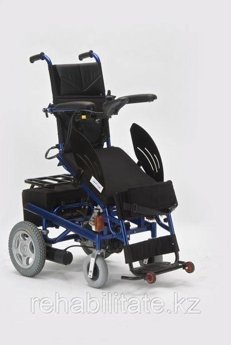 Кресло-коляска с электроприводом и вертикализатором FS 129
