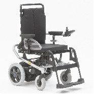 Инвалидная коляска с электроприводом, складная в авто Otto Bock A - 200 ширина 46 см, фото 1