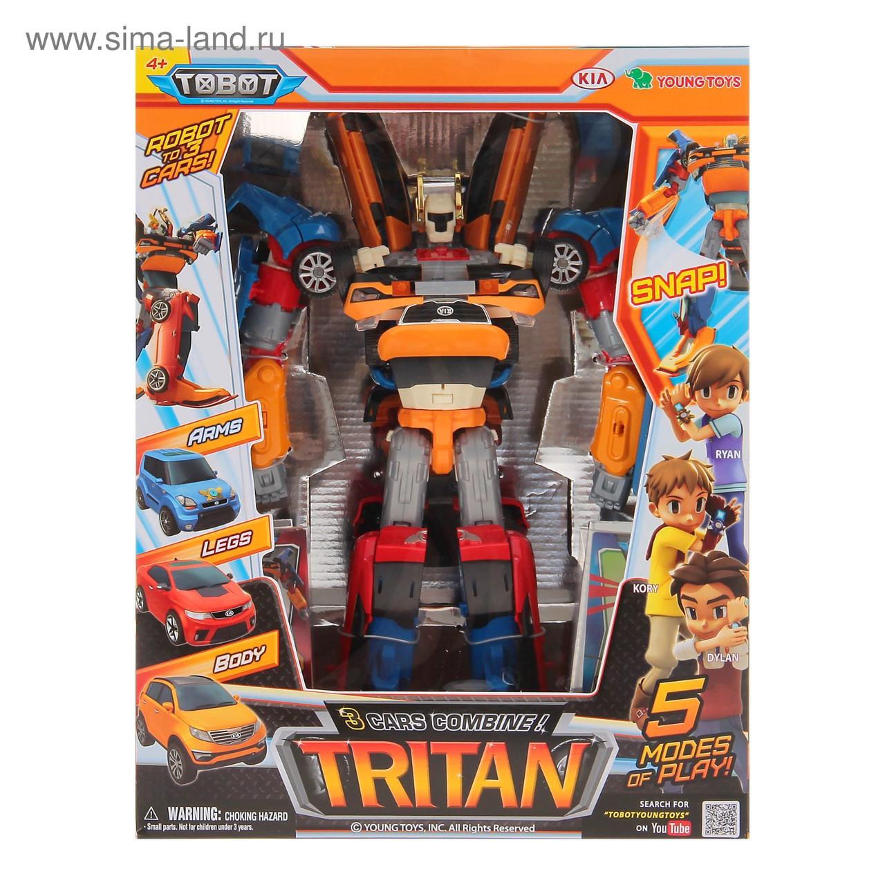 Робот-трансформер   Тобот Тритан