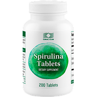 Спирулина в таблетках Spirulina Tablets (49602)