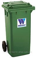 Евроконтейнеры для сбора отходов и мусора MGB  120 литров