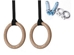 Гимнастические кольца для кроссфита (фанера) доставка по Алматы, фото 2