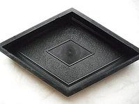 Форма для производства брусчатки  Ромб (ромбик) 35*20*3см, фото 1