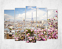 Модульная картина на холсте Сказочный Париж, фото 1