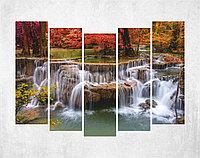 Модульная картина на холсте - парк Цзючжайгоу, Китай , фото 1
