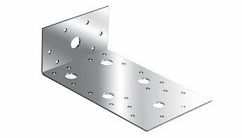 (46447) Крепежный уголок ассиметричный  2,0 мм,  KUAS 90x50x55 мм// СИБРТЕХ//Россия
