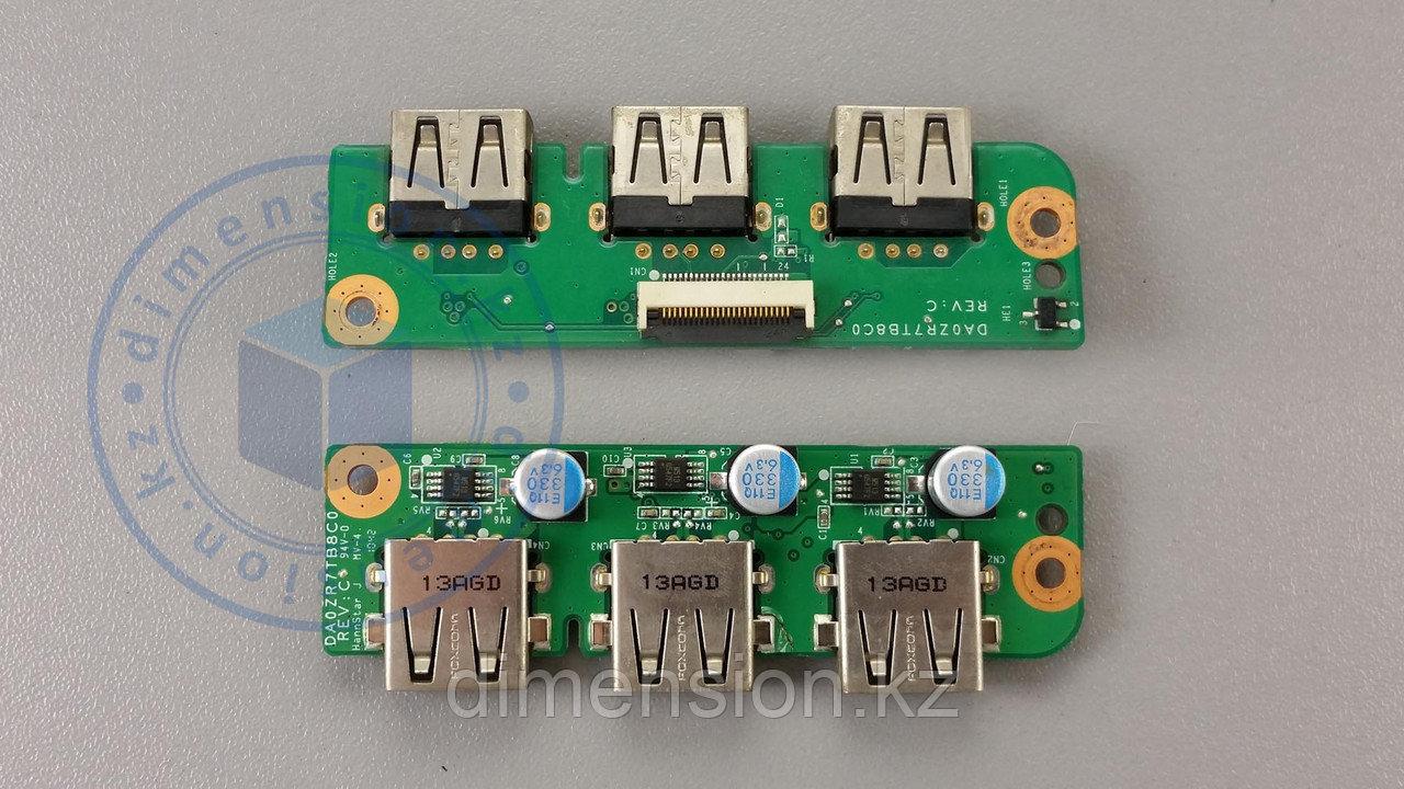 USB плата, порт, разъем DA0ZR7TB8C0 Rev. C DA0ZR8TB8B0 Rev. B на ACER Aspire 5745 5745G 5745DG 5553 5553G