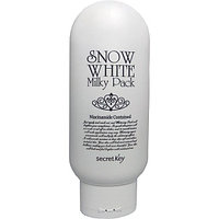 Молочная осветляющая маска Secret Key Snow White Milky Pack,200гр