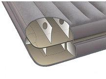 Надувной матрас-кровать Intex 67744 (серый цвет), фото 3