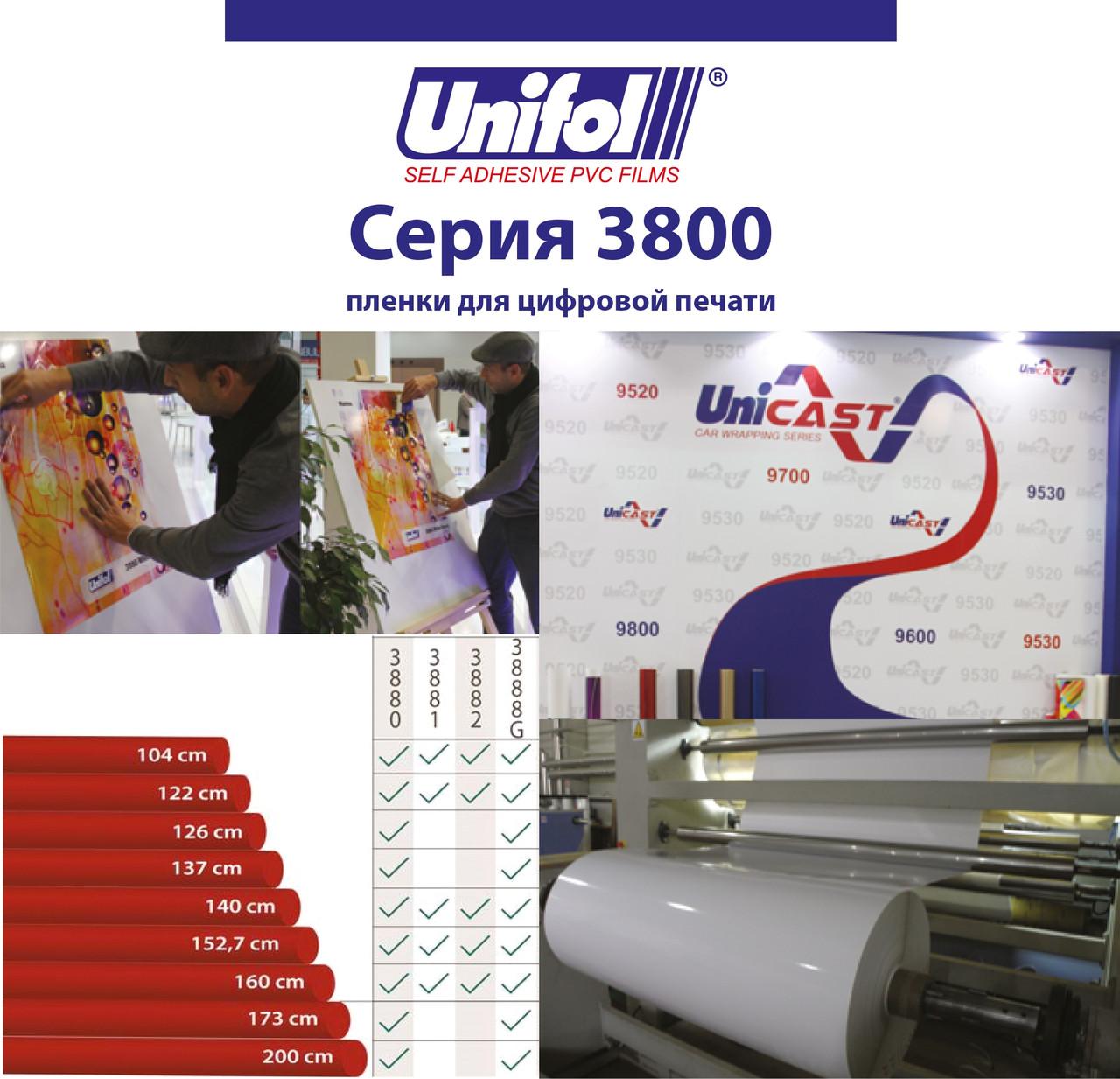 Пленка для цифровой печати Unifol 3800