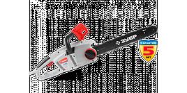 Пила ЗУБР цепная, защита руки (тормоз цепи), масляный бачок, смена цепи без ключа, шина 40см, 2000Вт