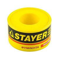 "Фумлента STAYER ""MASTER"", плотность 0, 16 г/см3, 0, 075ммх12ммх10м"