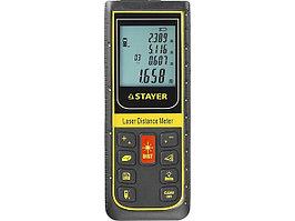 """Дальномер STAYER """"PROFI"""" лазерный, """"SDL-100"""", точность 2мм, дальность 100м"""