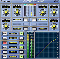 SONNOX Oxford Plugins Dynamics TDM to HD-HDX Upgrade