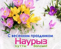 В честь праздника Наурыз!