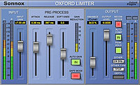SONNOX Oxford Plugins Limiter TDM to HD-HDX Upgrade