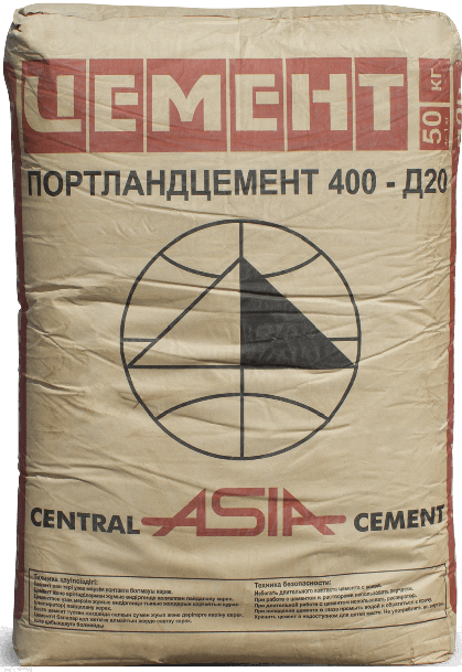 ЦЕМЕНТ ПЦ400 50 кг.
