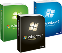 Windows 7 Ultimate, Windows 7 Professional, Windows 7 Home Premium / Basic, Windows 7 Starter