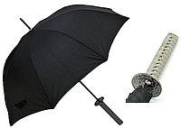 """Зонт """"Самурайский меч"""" - Катана с серебристой ручкой"""